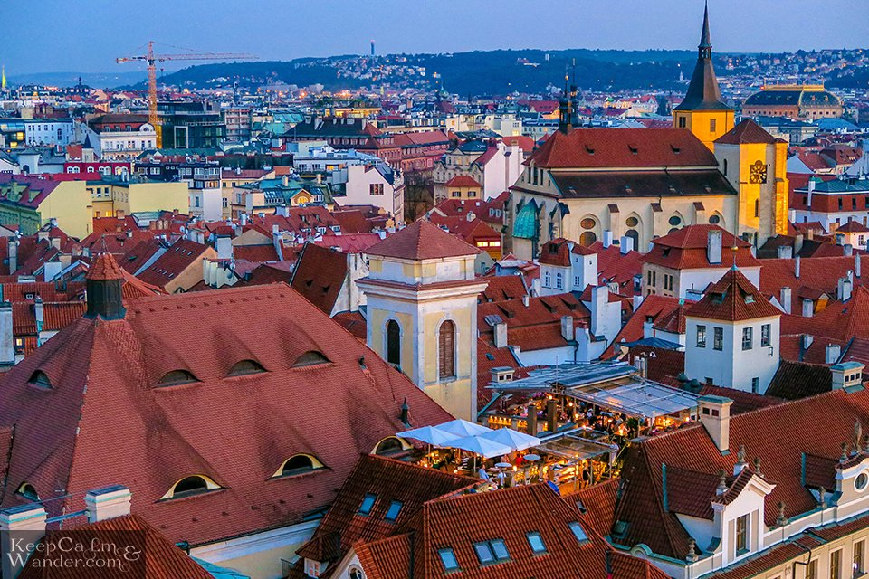 Prague's skyline is something you'd never forget soon. Travel Blog Praha