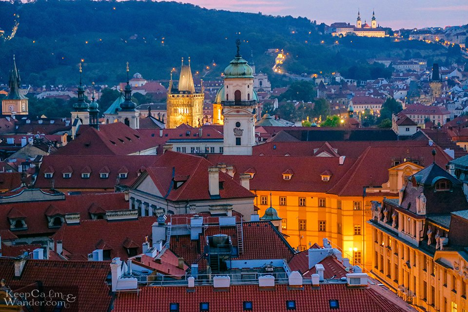 Prague's skyline is something you'd never forget soon. Travel Blog