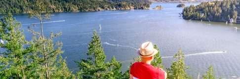 Quarry Rock Hiking Trail Deep Cove Vancouver 1