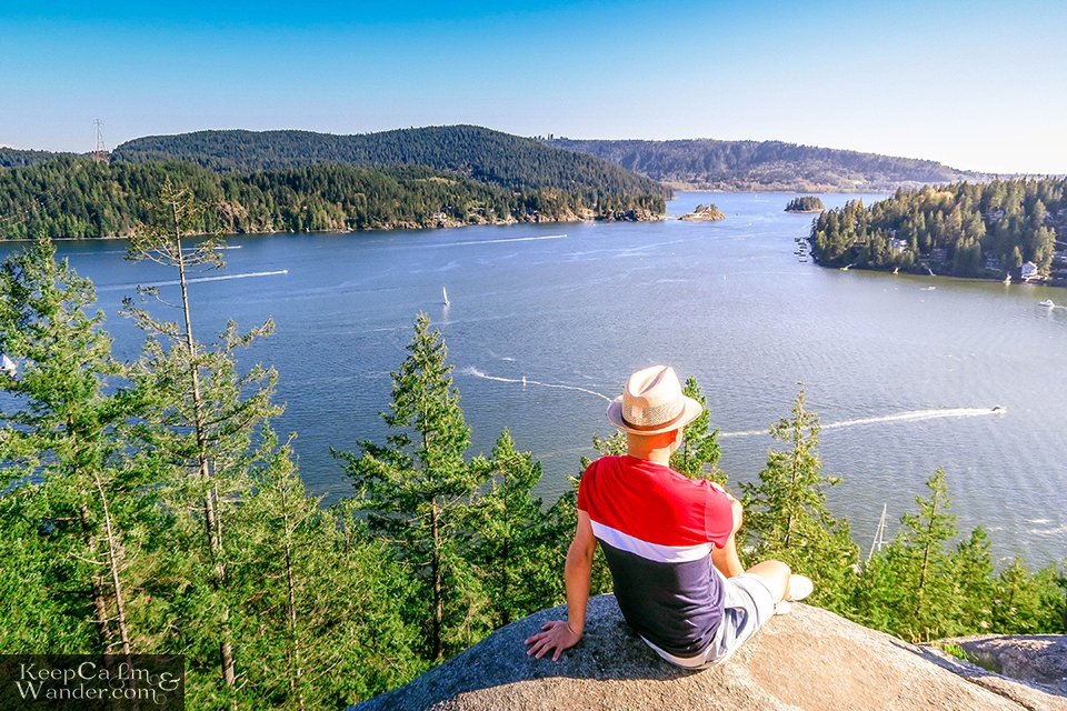 Photos: Quarry Rock Hiking Trail in Deep Cove and the Views from Above (Vancouver, British Columbia).