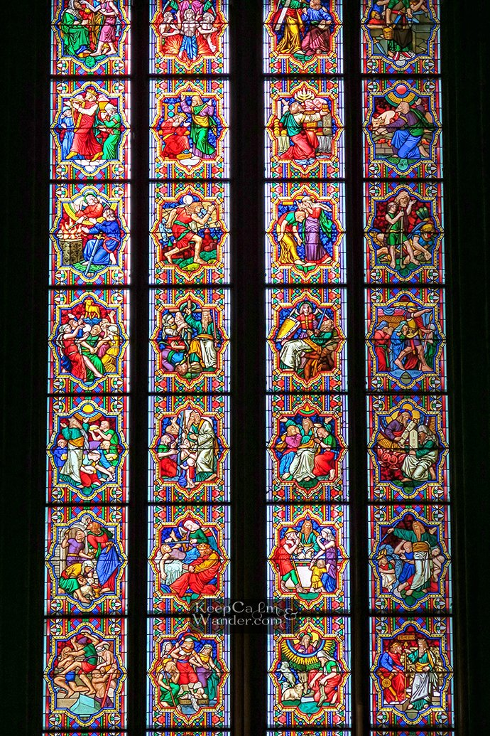 Johannes Klein stain glasses window