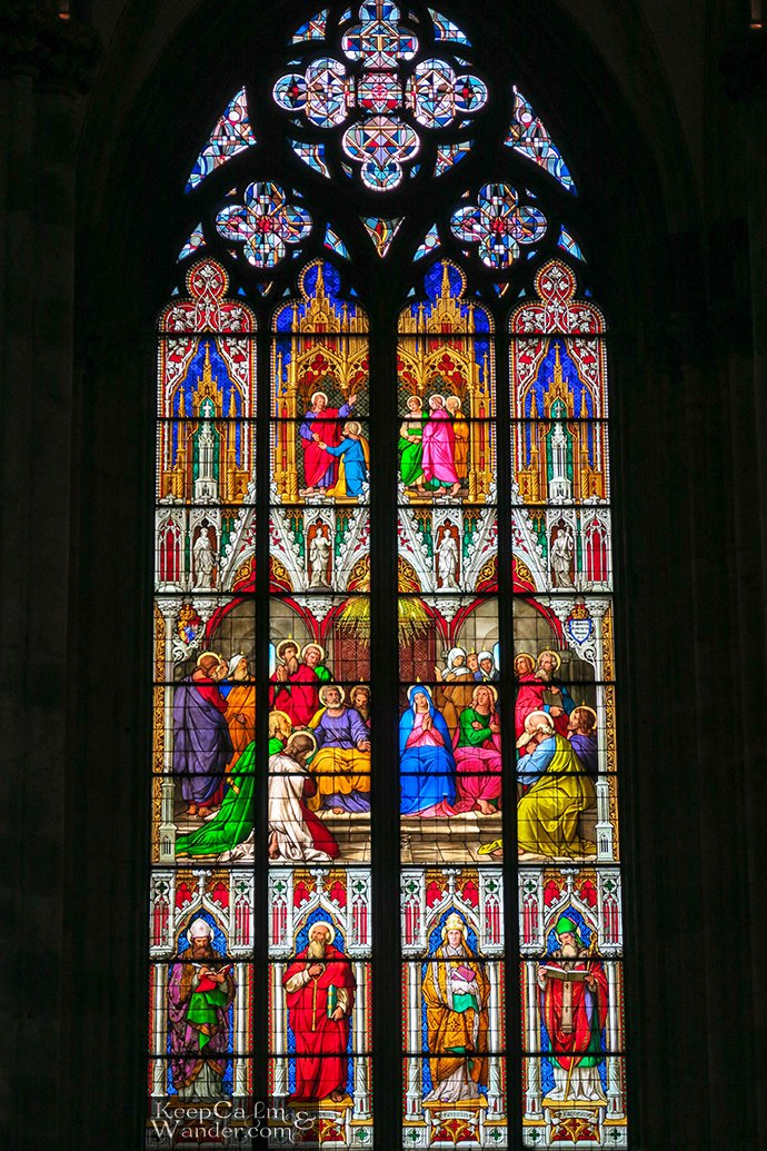 Window of the Pentecost (Koln, Germany)