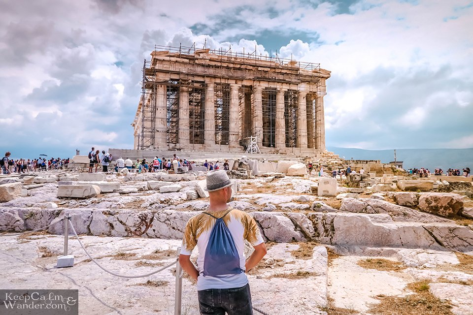 Touristy Things to do in Athens Greece Photos Acropolis Parthenon