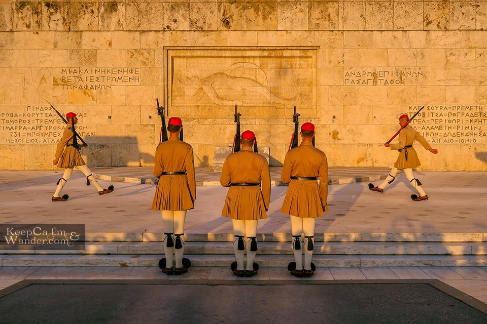 Changing of the Guards Athens Greece Hotel in Athens