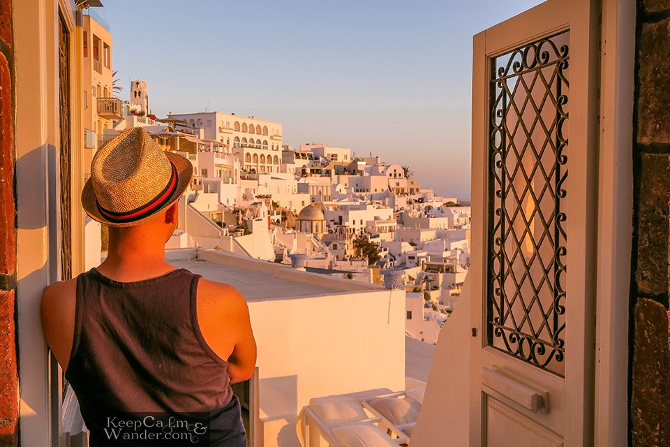 Santorini Sunset Greece Hotel in Santorini Hostel AirBnB Travel
