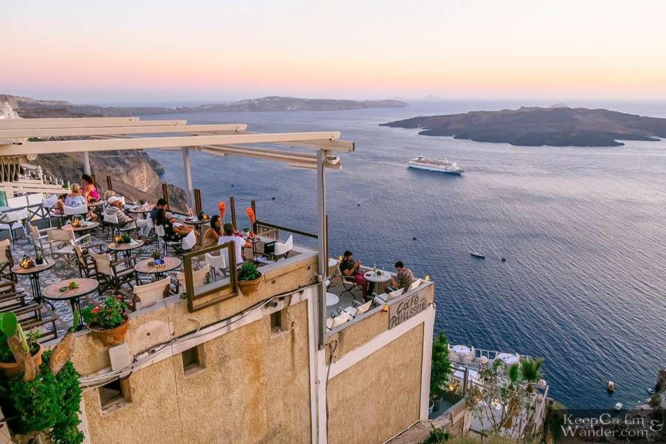 Hostel Hostel in Santorini Greece Travel Blog Backpacking