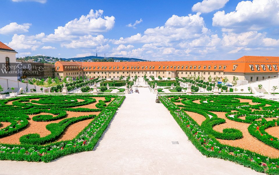 Garden at the Castle (Slovak Republic)