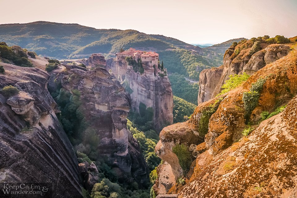 Varlaam Monastery Meteora Greece Travel