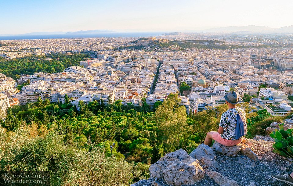 Mt Lycabettus View of Athens Touristy Things to do in Athens