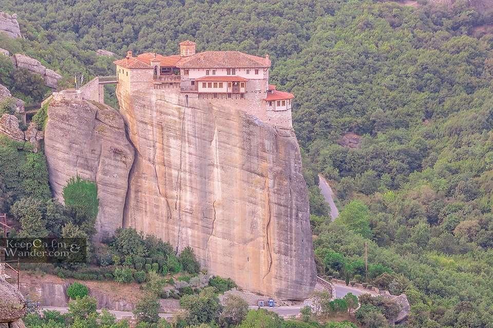 Roussanou Monastery - Meteora, Greece Travel Blog Photos