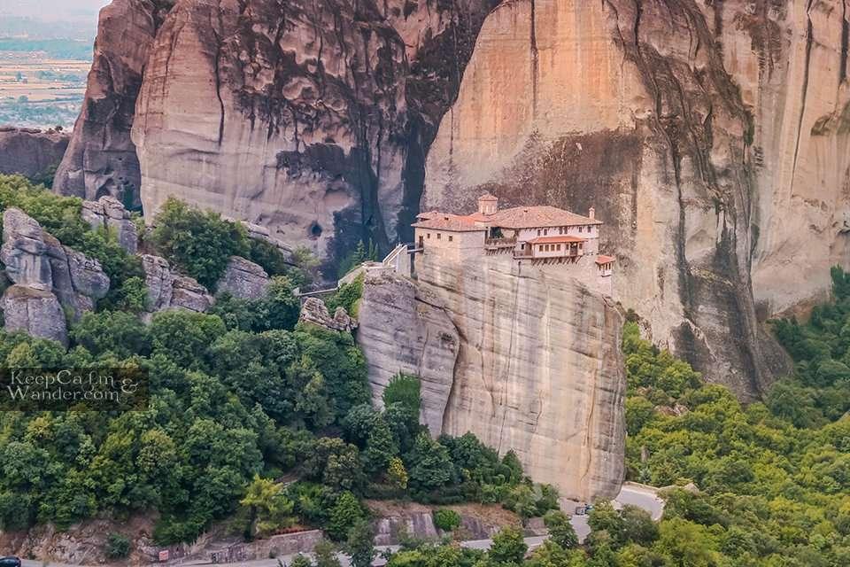 Roussanou Monastery Meteora, Greece