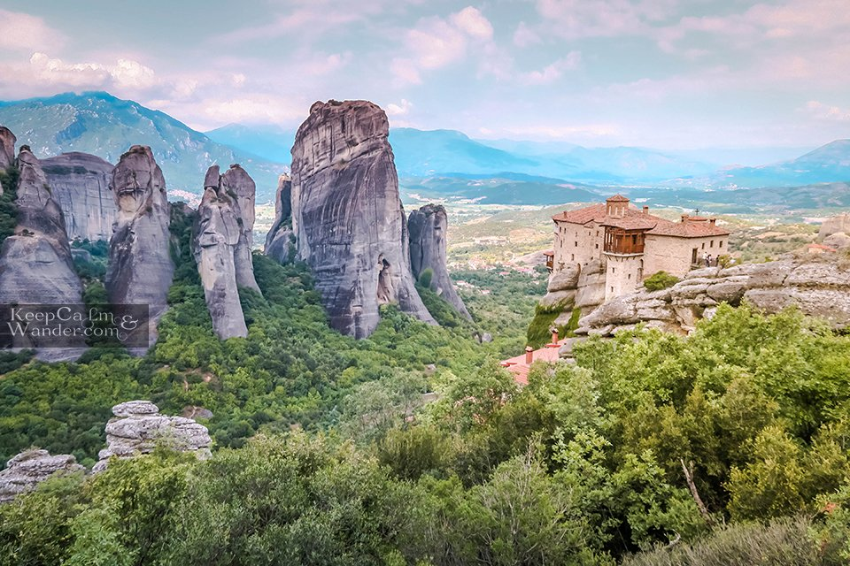 Greek Orthodox Monastery Meteora Greece Travel