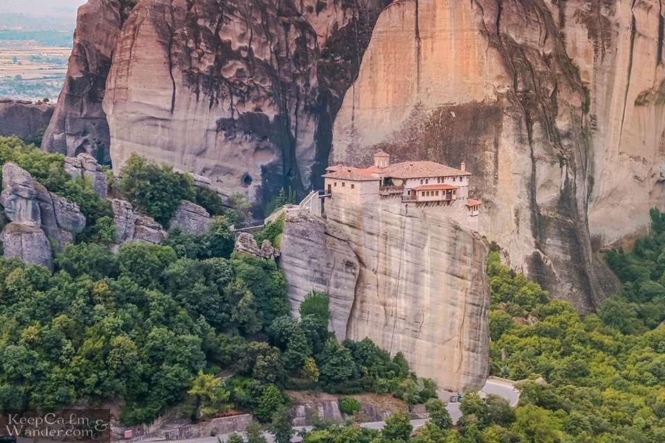 Roussanou Monastery (Greece). Travel Blog