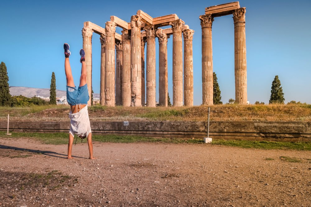 Temple of Zeus Touristy Things to do in Athens, Greece  Travel Blog