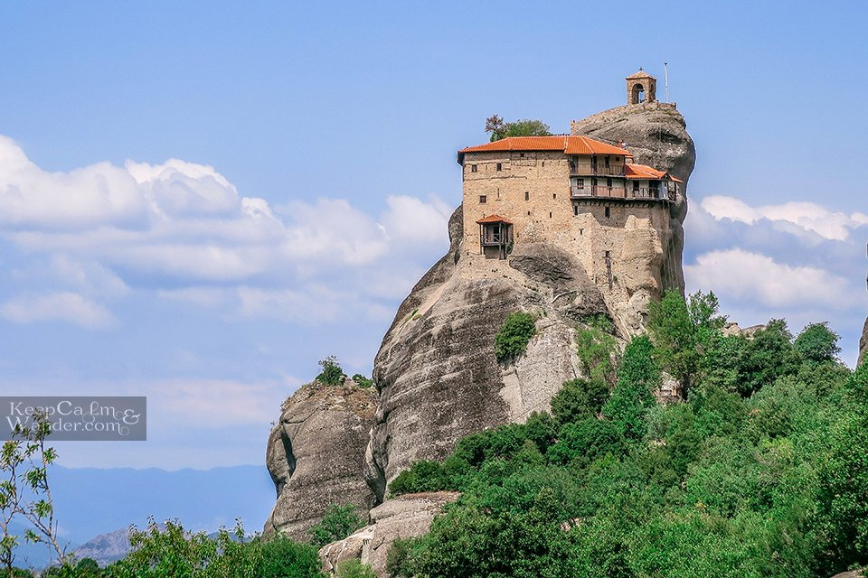 Holy Monastery of St. Nicholas Anapafsas (Meteora, Greece). Travel Blog Photo