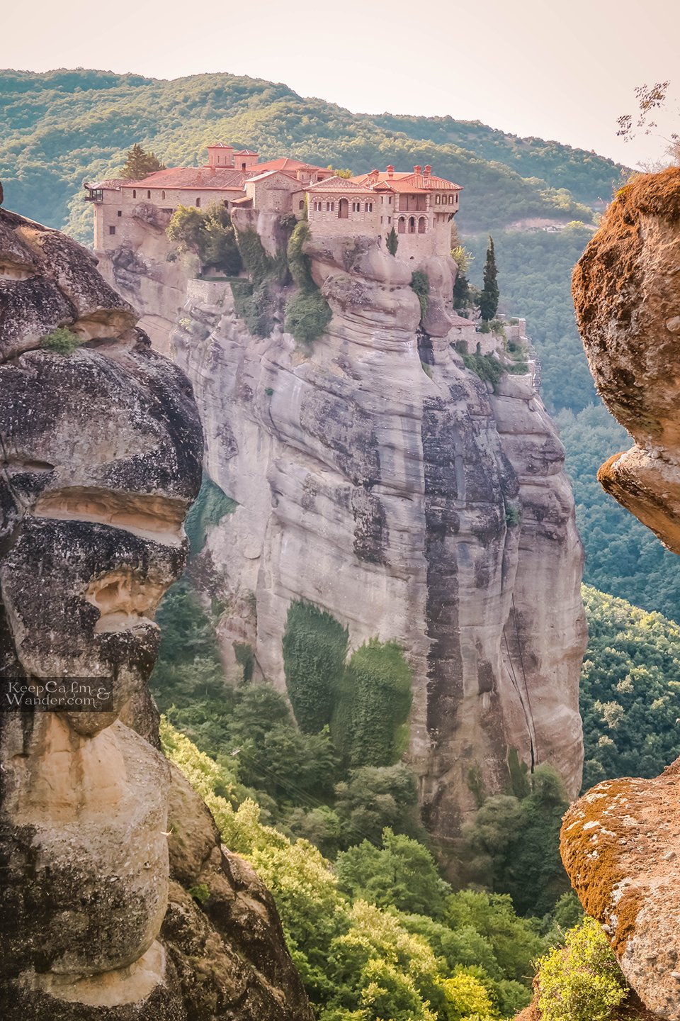 Meteora in One Day from Athens - A Travel Itinerary (Varlaam Monastery) Greece
