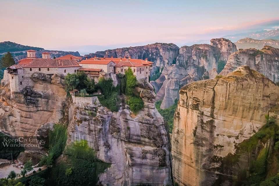 Monasteries in Meteora Travel Blog Hotel in Meteora
