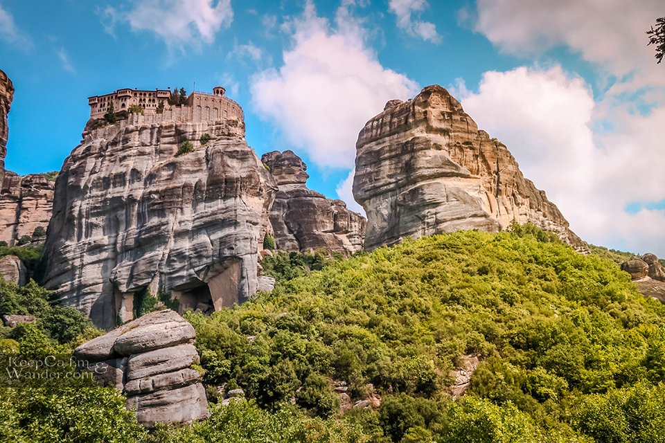 Hostel in Meteora Travel Blog Greece