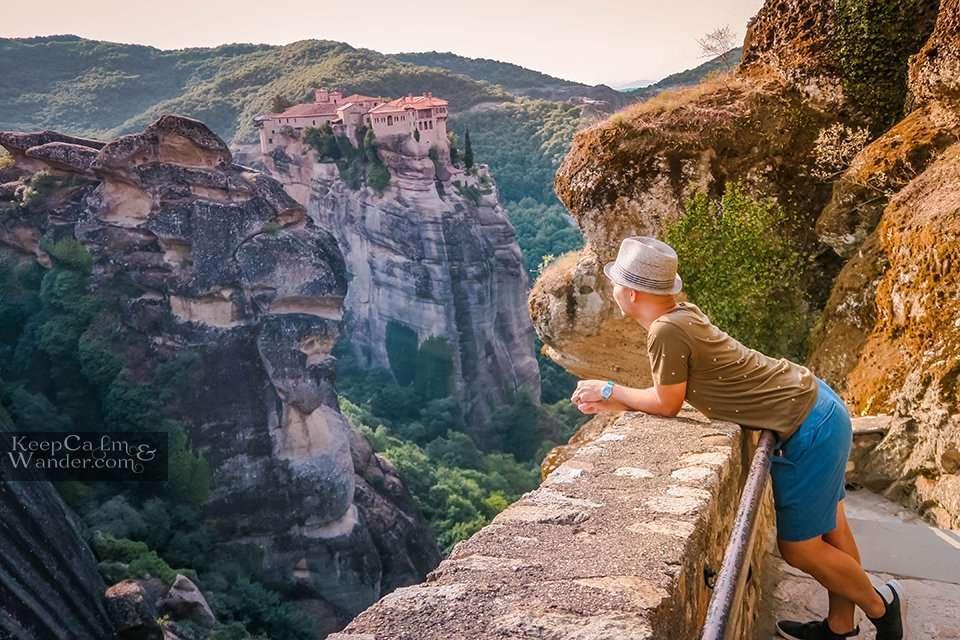 Varlaam Monastery in Meteora, Greece.
