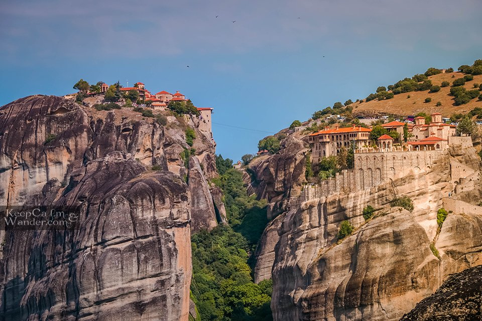 Meteora in One Day from Athens - A Travel Itinerary (Varlaam and the Great Monastery of Meteoron) Greece Travel
