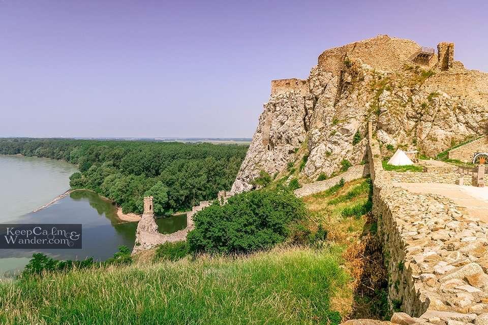 Danube and Morava River Bratislava Slovakia
