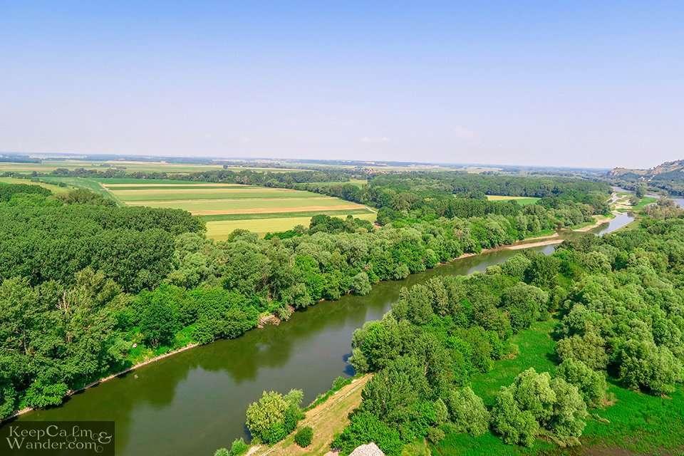 Morava River Bratislava Slovakia
