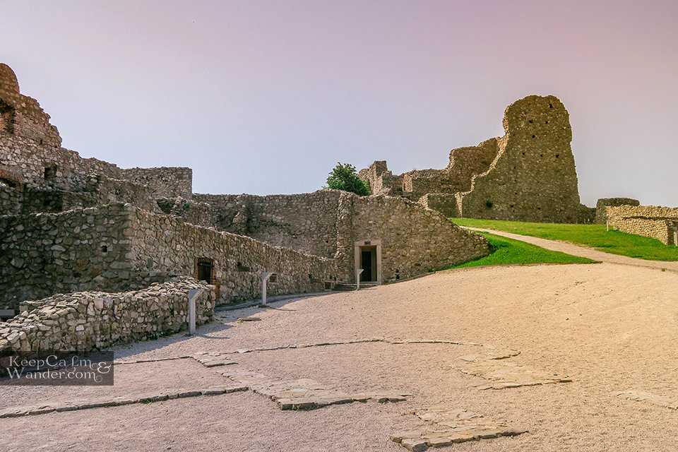 Devin Castle Bratislava, Slovak Republic.
