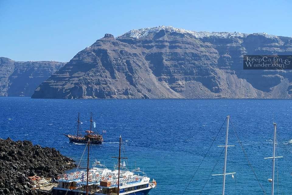 Nea Kameni – A Volcanic Island Across Santorini Greece