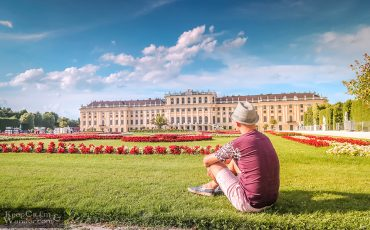 Schonbrunn Palace Vienna Austria 1
