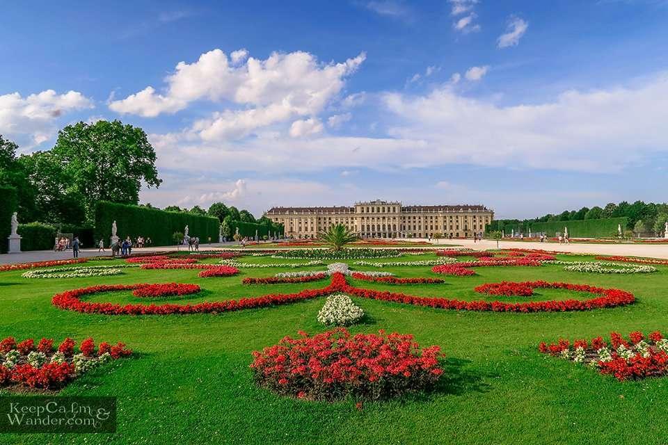 Schloss Schönbrunn Vienna Austria