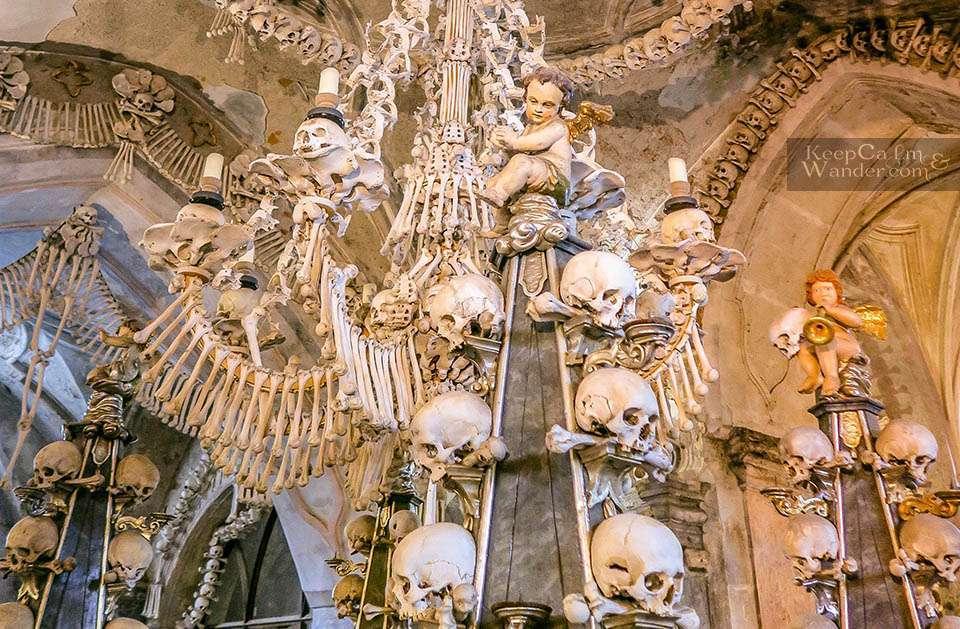 Sedlec Ossuary Kutna Hora Prague Czech Republic