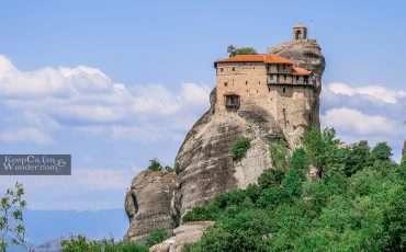 St Nicholas Monastery Meteora Greece 7