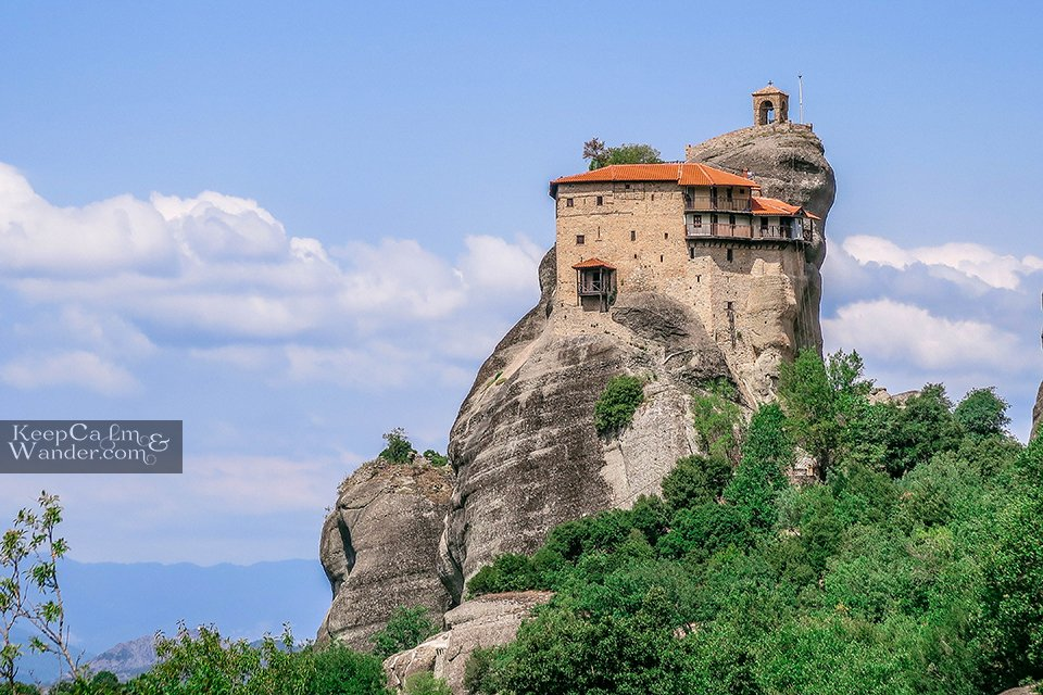 Interesting facts about St Nicholas Monastery in Meteora Greece