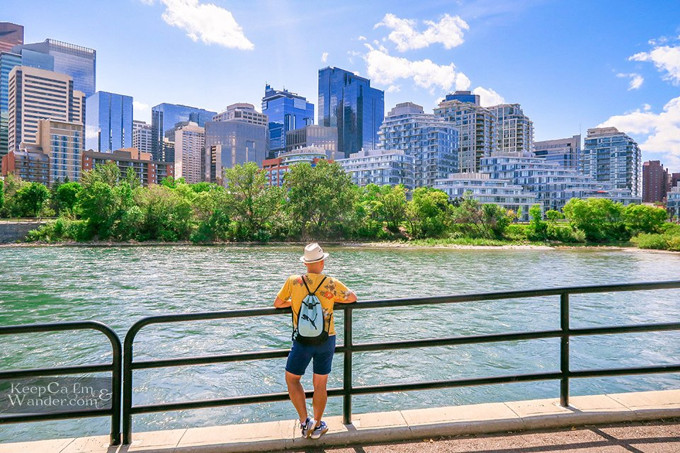Calgary Views Take Photo Skyline Travel Canada