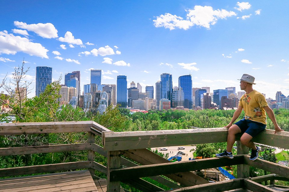 Lookout McHugh Bluff Bow River Things to do