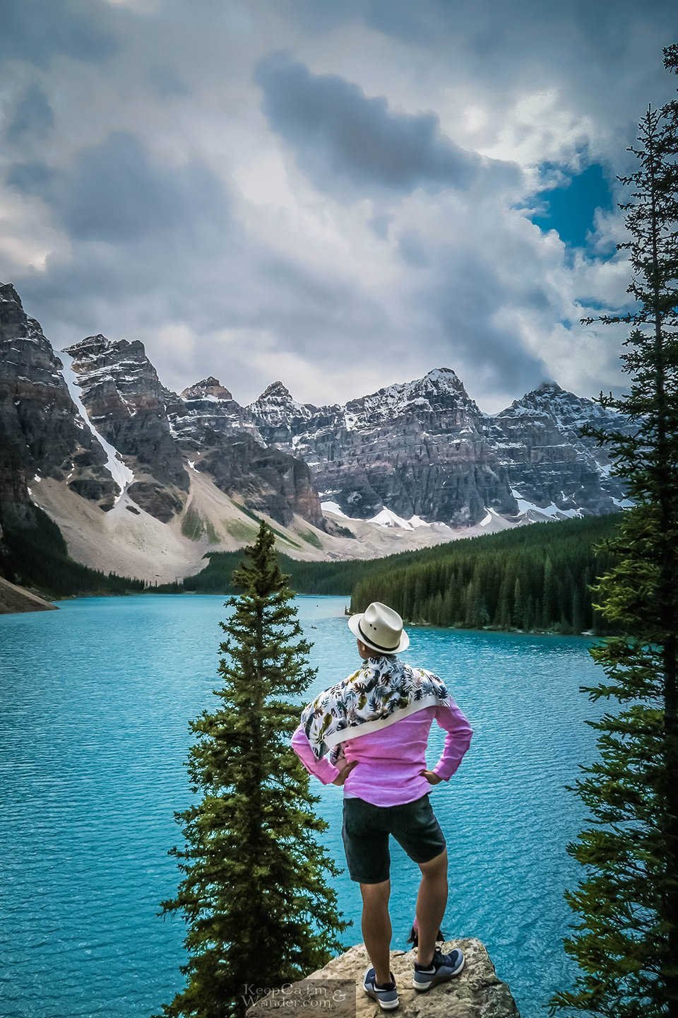 Moraine Lakes in the Canadian Rockies Banff Things to do