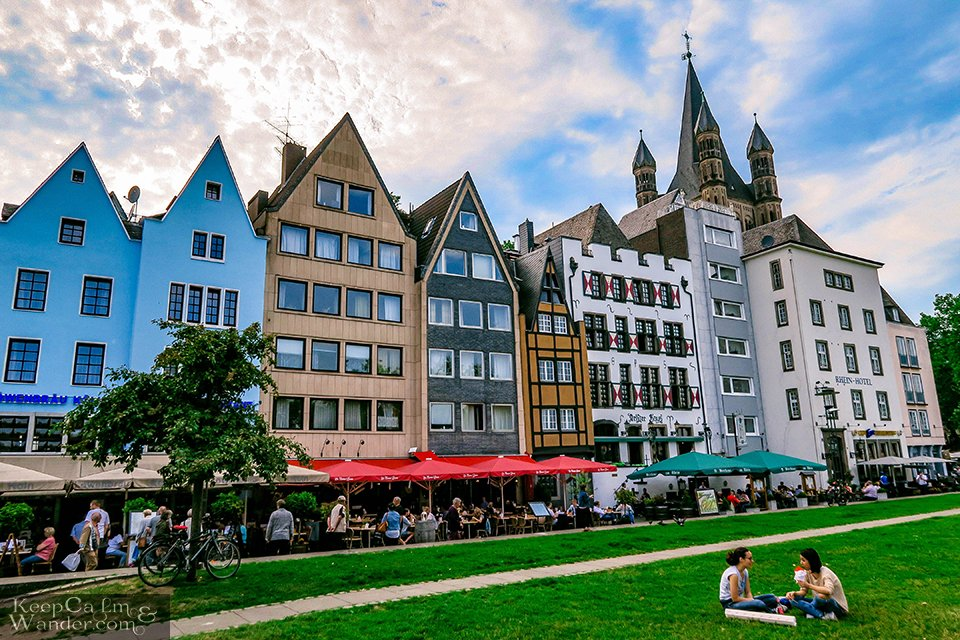 The Historic Old Town of Cologne (Germany). Travel Blog