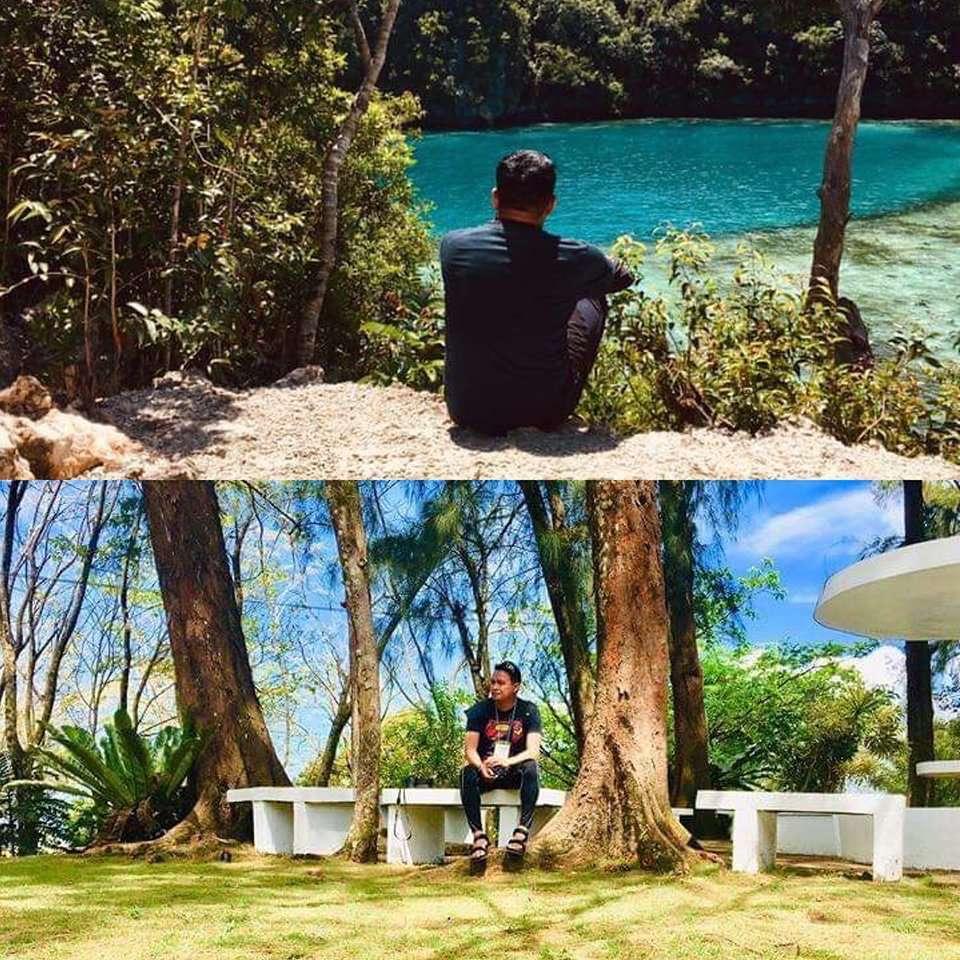 Blue Lagoon Dinagat Islands, Surigao del Norte (Philippines).