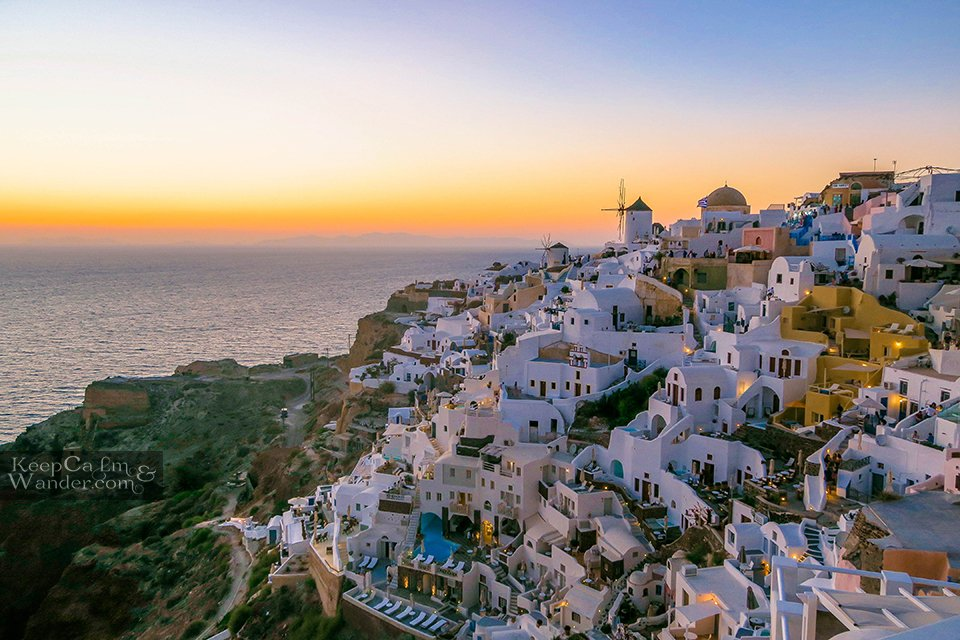Oia Santorini Sunset Will Give You Chills Things to do