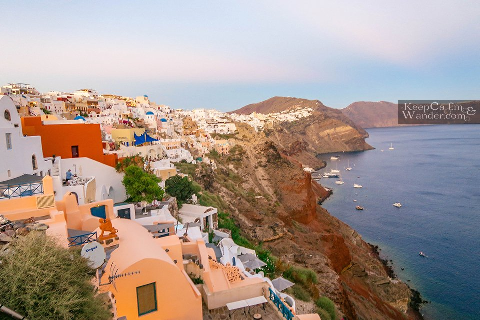 Greece Travel Oia Santorini Sunset Will Give You Chills