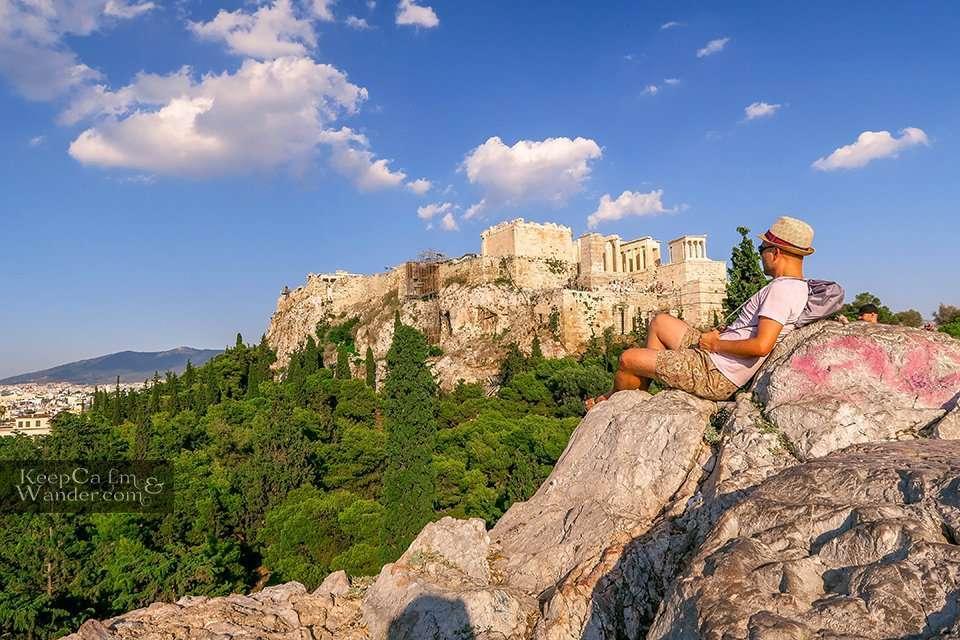 Parthenon from Filopappou Travel Blog