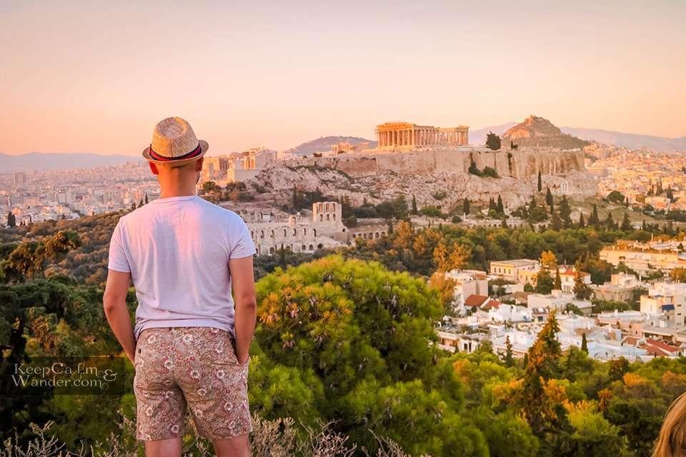 Parthenon from Filopappou Hill