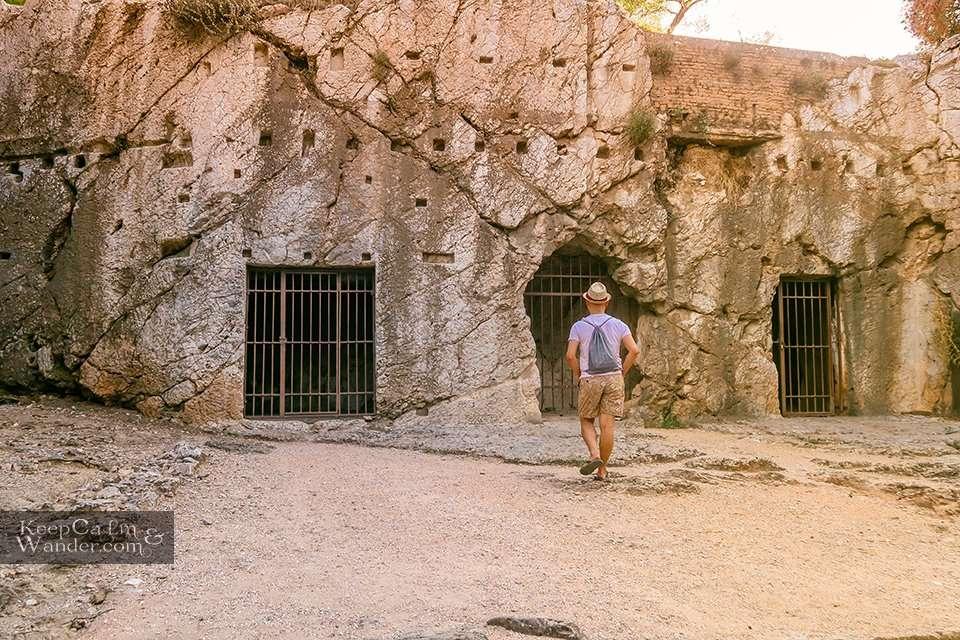 Prison of Socrates Athens Greece