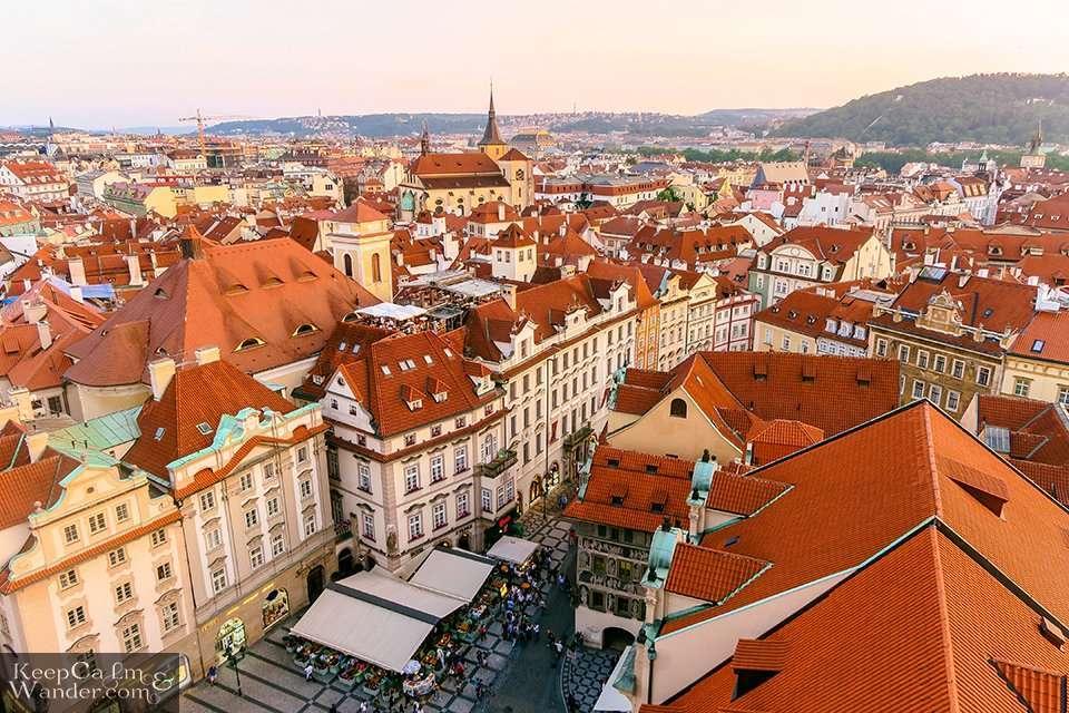 Prague panorama Things to do