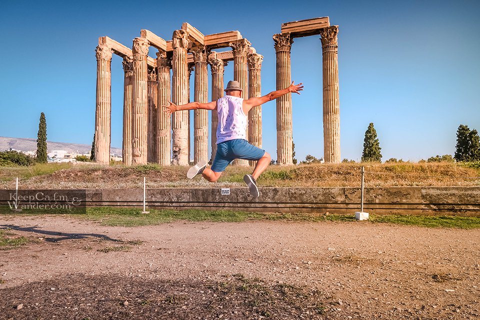 The Temple of Zeus is at the Heart of Athens Greece Travel