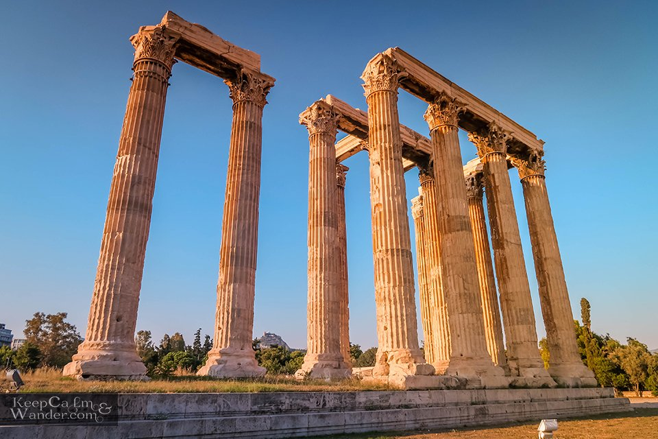 The Temple of Zeus is at the Heart of Athens Greece Athens
