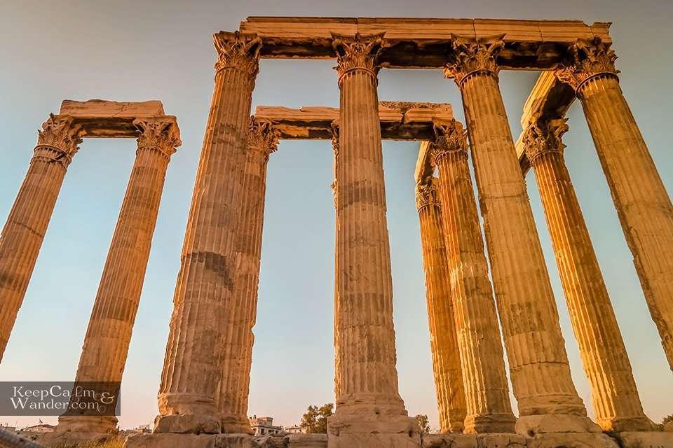 Doric Corinthian Columns Architecture