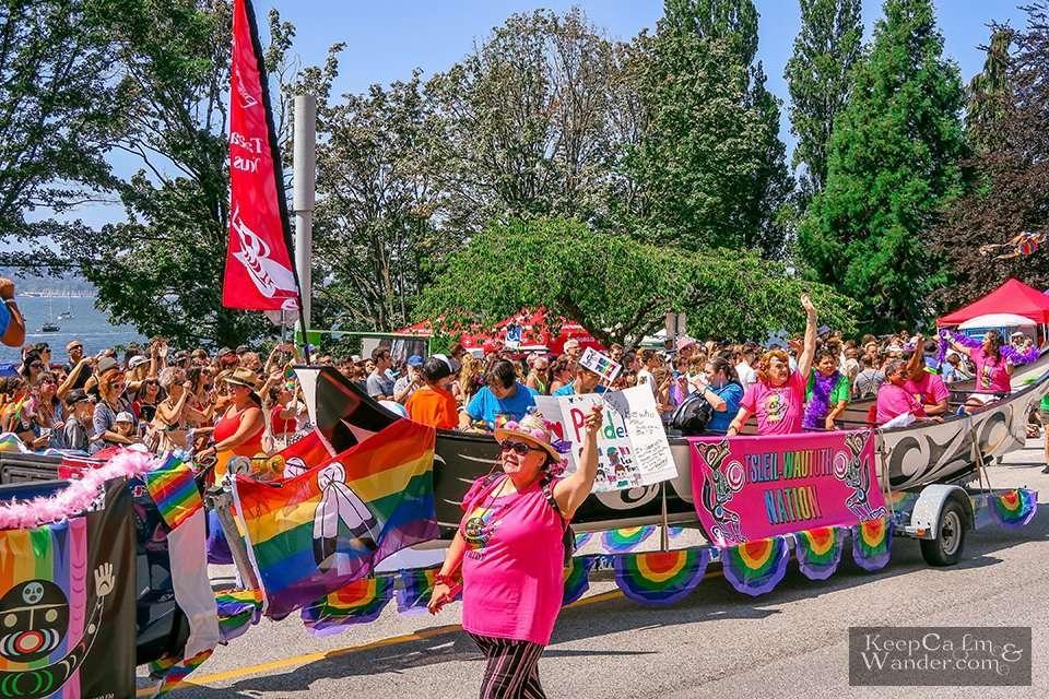 Vancouver Pride Parade 2019 Canada Travel