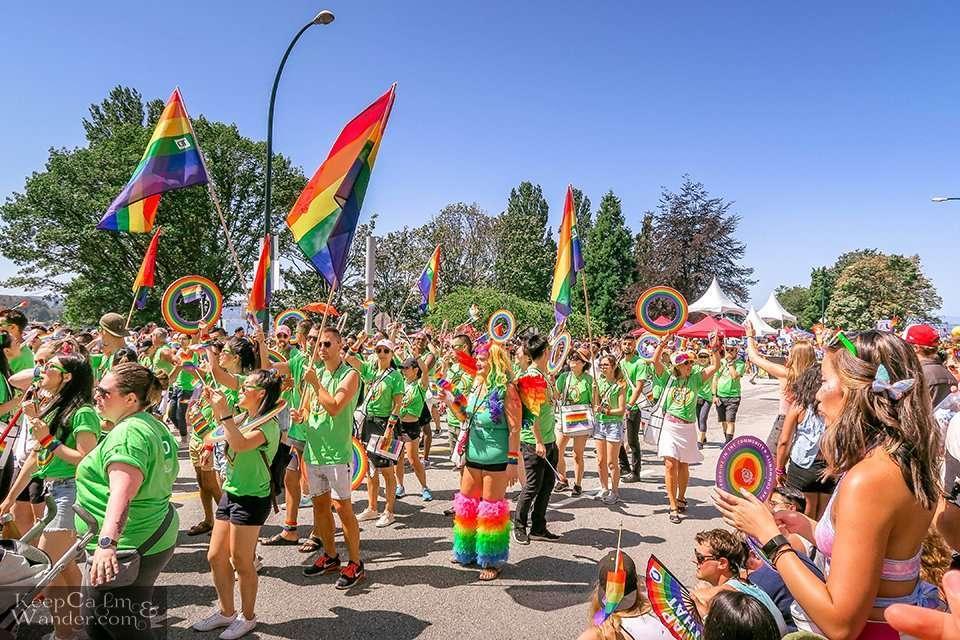 Vancouver Pride Parade 2019 Canada