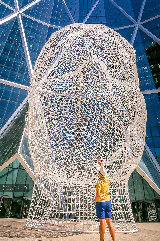 Wonderland sculpture Things to do Calgary
